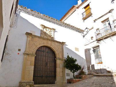 Casa de Jorge Manrique en Segura de la Sierra