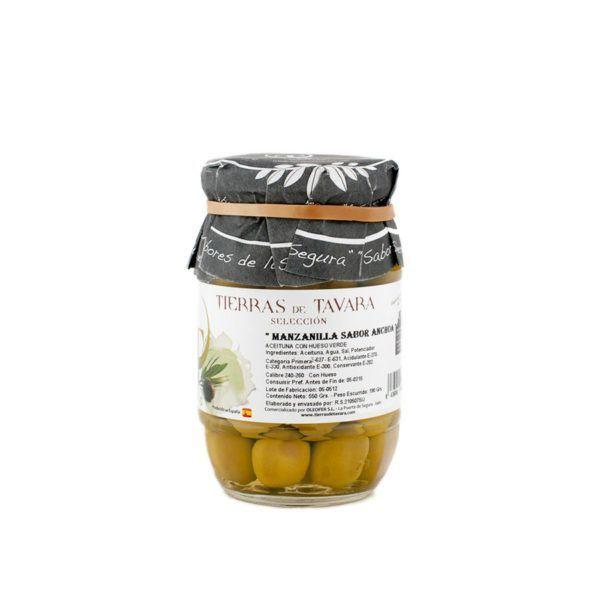 Aceitunas Manzanilla Pequeno