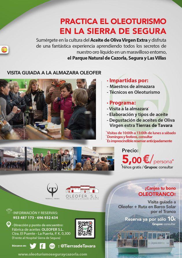 Oleoturismo en la Sierra de Segura